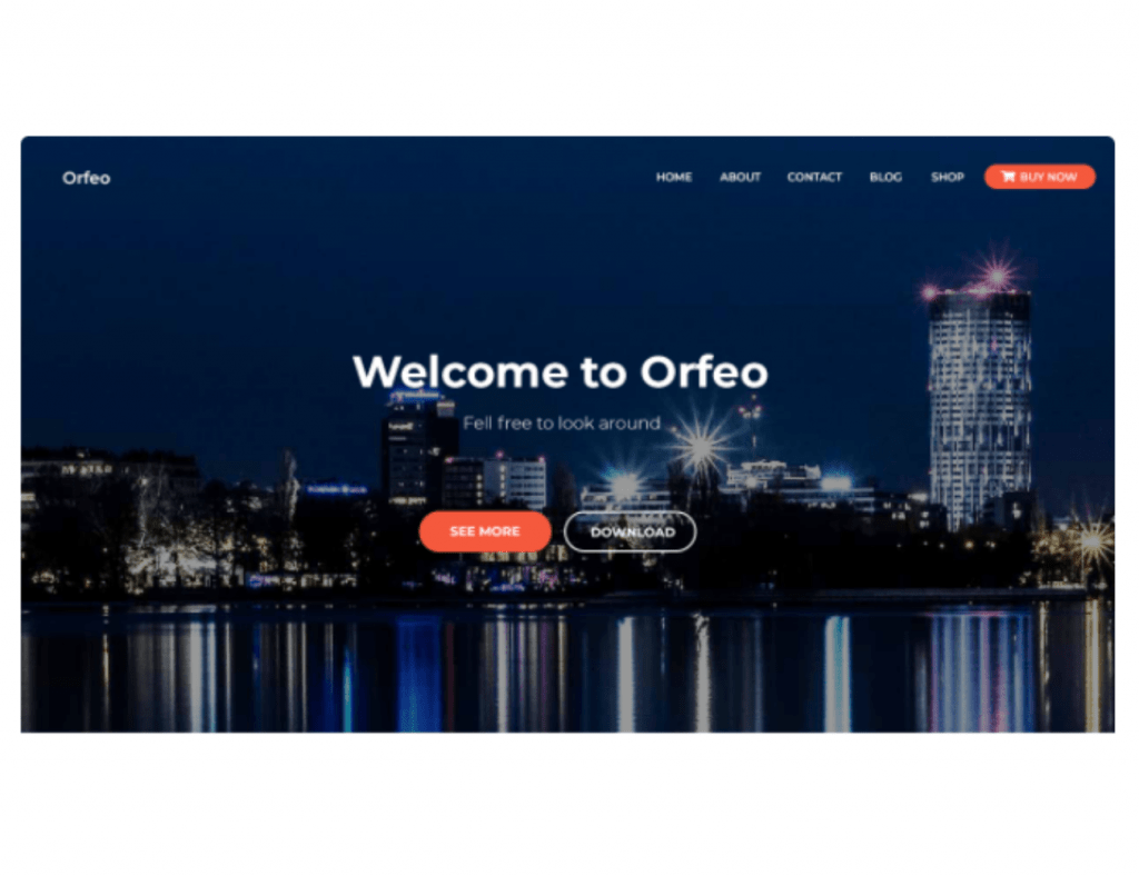 orfeo wordpress theme