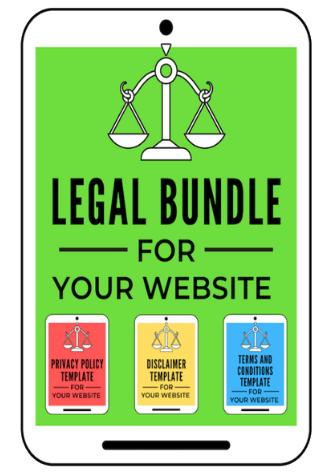 website legal templates