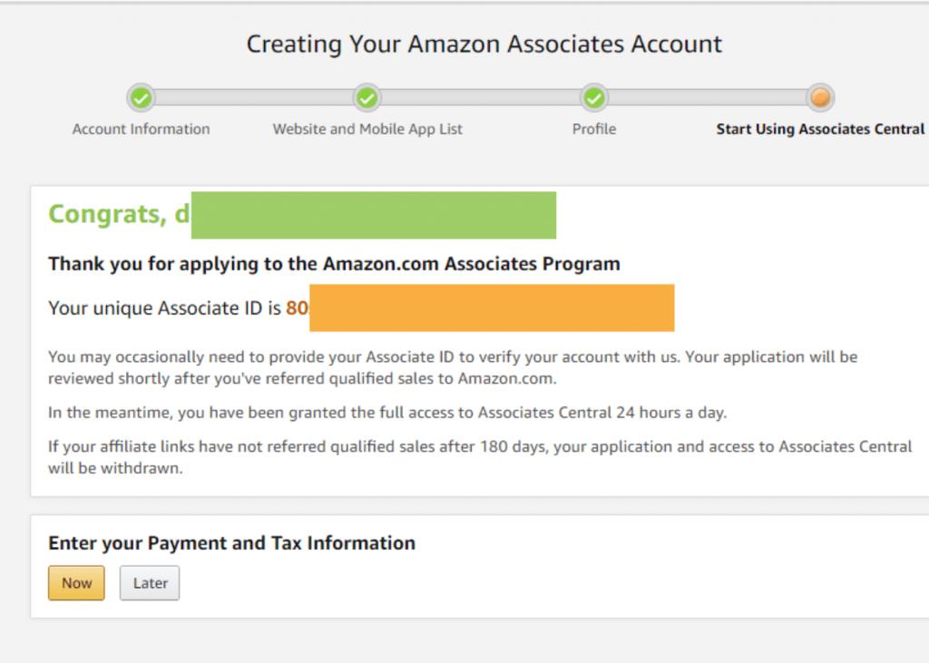 amazon affiliate program review